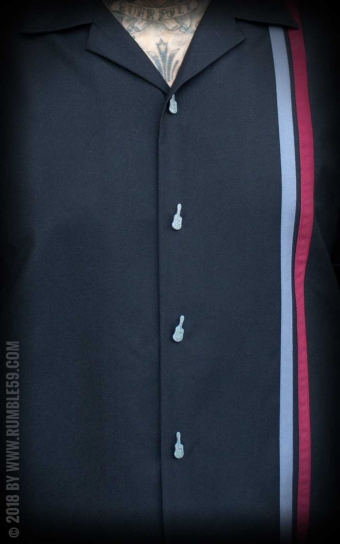 Lounge Shirt Man in Black