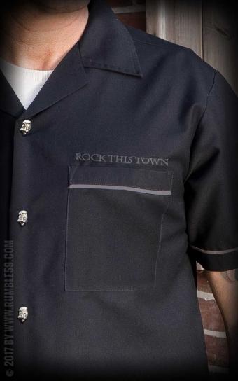 Lounge Shirt Rock this town