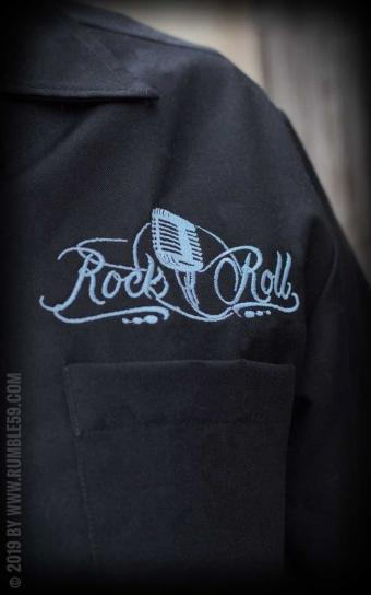 Lounge Shirt Sound of RocknRoll - hellblau