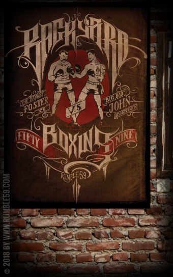 Poster - Backyard Boxing