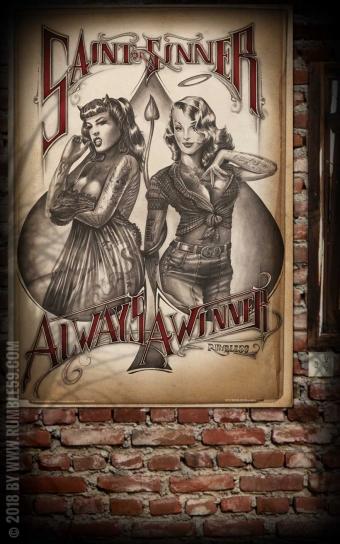 Poster - Saint or Sinner