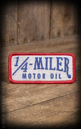 Aufnäher 1/4-Miler Motor Oil
