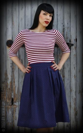 Sailor Swing Dress All hands on deck!