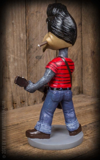 Schmiere - Wackelkopf-Figur | Wobbler 6-String-Steve