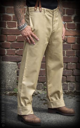 Chino Pants California   Selvage