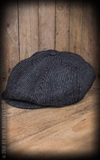 Slugger Cap | Schiebermütze - schwarz/grau
