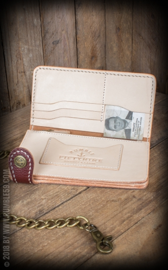 Leather Wallet 2-Tone - Cash Only