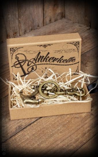 Keychain | Schlüsselanhänger Anker - Let go anchor!