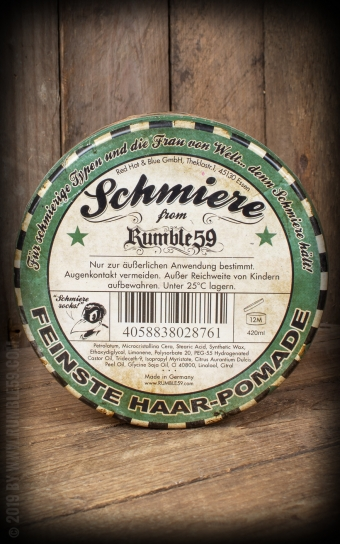 Schmiere - Pomade hart, Big Pack