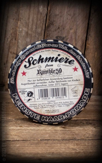 Schmiere - Limited Edition rock hard - 6-String-Steve