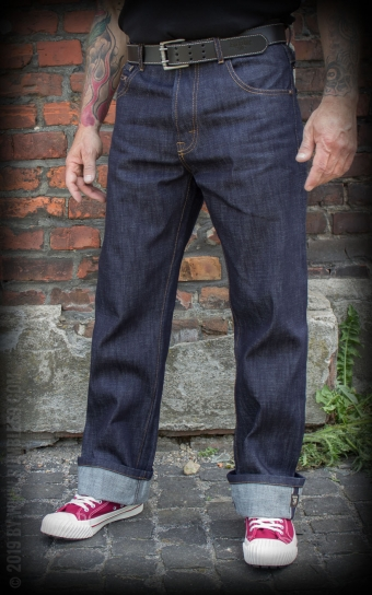 Jeans Raw Selvage Denim - Double Back