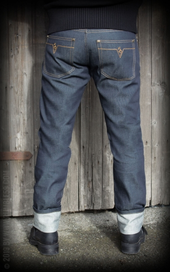 Jeans Male Slim Fit RAW Selvage Denim