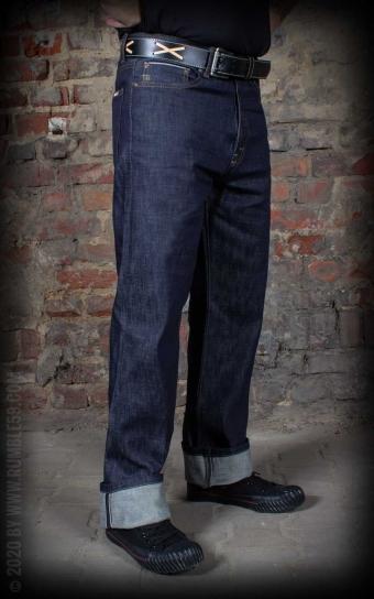 Selvage Denim Greasers Finest, limité en set avec peigne+pomade