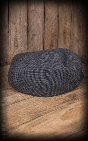 Slugger Cap | Schiebermütze - grau schwarz
