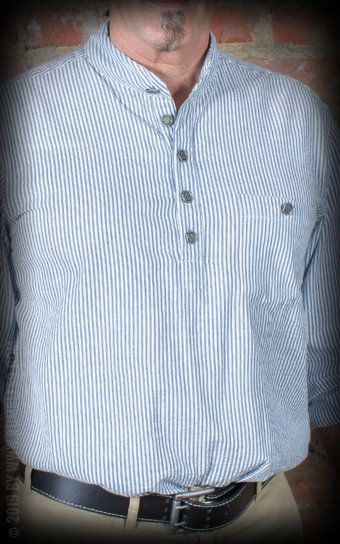 Stehkragenhemd - Dapper Workman