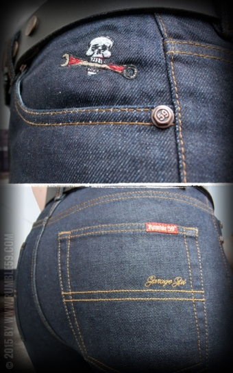 Jeans Garage Gal - Straight Cut
