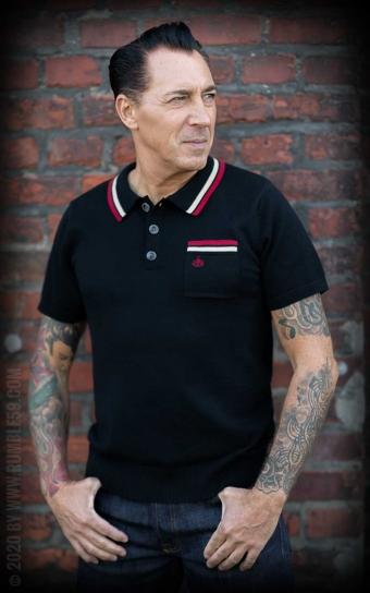 Strick-Poloshirt Redmond