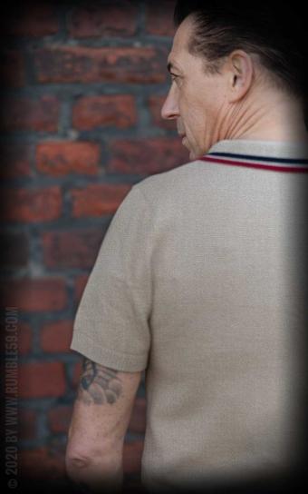 Strick-Poloshirt Rockford - beige