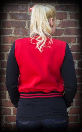 Ladies Sweat College Jacke - Good or bad