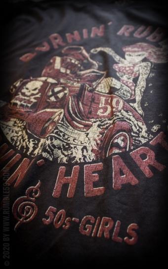 T-Shirt Burnin Rubber