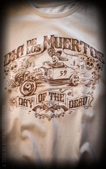 T-Shirt Day of the Dead - offwhite