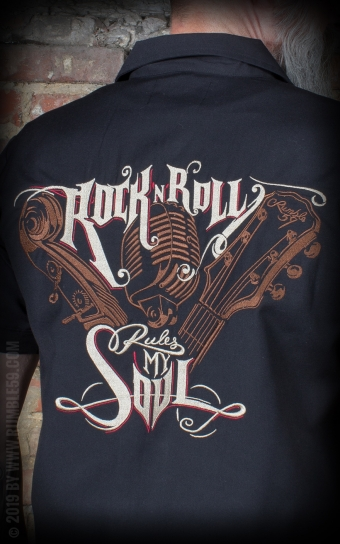 Worker Shirt RnR rules my soul