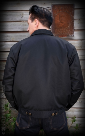 Workerjacket Blank - black