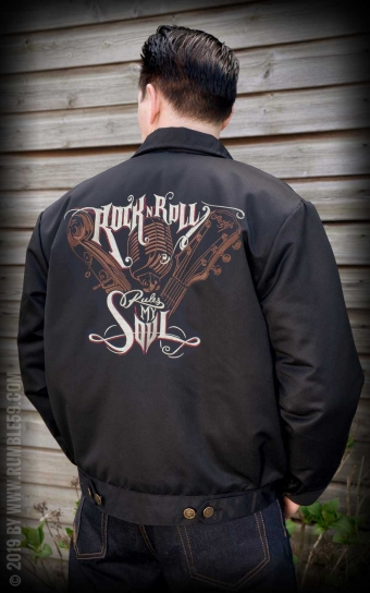 Workerjacke RnR rules my soul