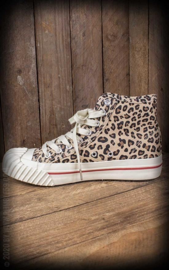 Gabor Sneaker Mit Leo Muster Rot Fur Damen 3
