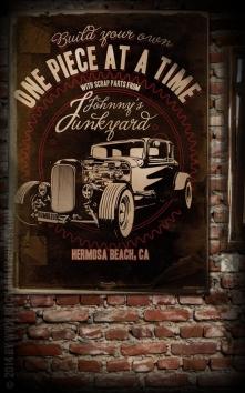 Poster - Johnnys Junkyard