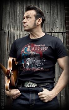T-Shirt Hotrod Bettys Speed Shop