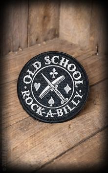 Aufnäher Oldschool Rockabilly