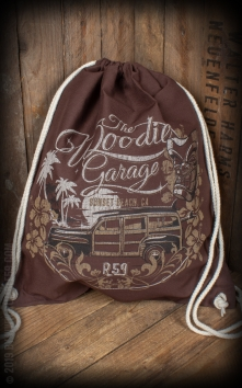 Cotton Rucksack The Woodie Garage