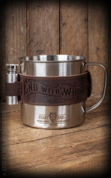 Mug set - Start with coffee, end with whisky