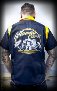 Bowling Shirt Getaway Car