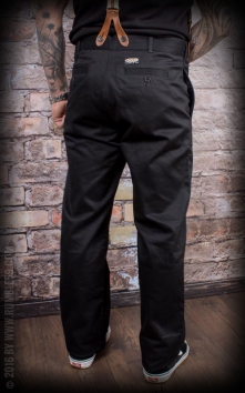 Chino Pants California | Selvage - black