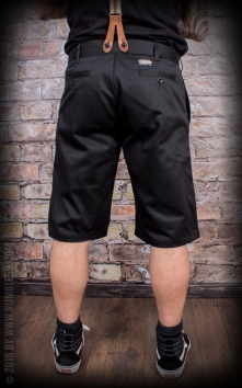Chino Shorts California | Selvage - noir