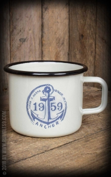 Enamel Mug Drop my anchor