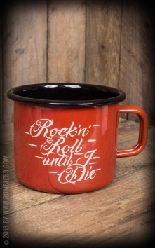Enamel Mug RnR Until I Die