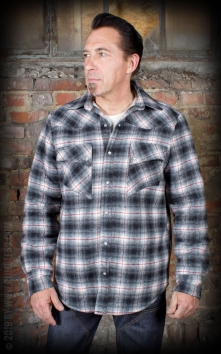 Winter Shadow Plaid Shirt | Flanellhemd - Idaho