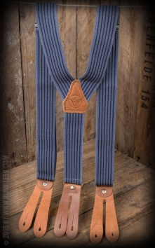 Suspenders Colour combination, blue