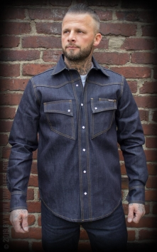 RAW Japan Selvage Denim Shirt