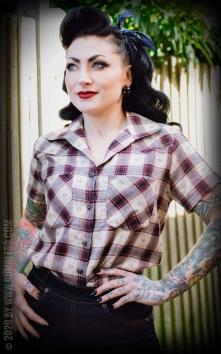 Chemise à carreaux Heartland Hottie