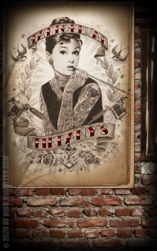Poster - Tattoed at Tiffanys