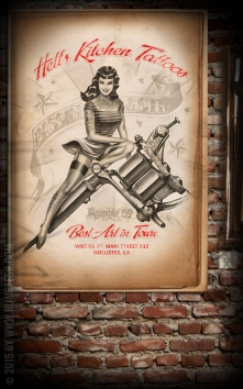Poster - Hells Kitchen Tattoo