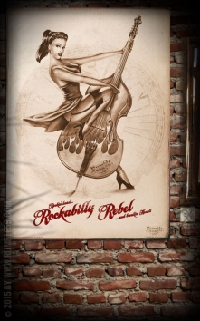 Poster - Rockabilly Rebel