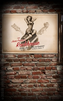 Poster - Rockhouse