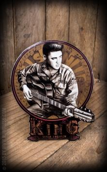 Aufkleber Young Elvis