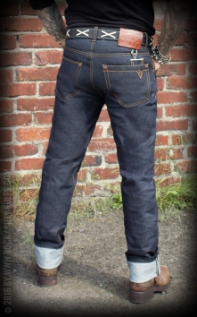 Jeans Raw Selvage Denim   Wrecking Wrench