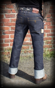 Jeans RAW Worker Denim Woodworker